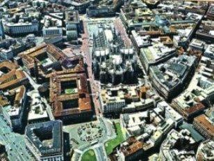Milánó, a Dóm tér